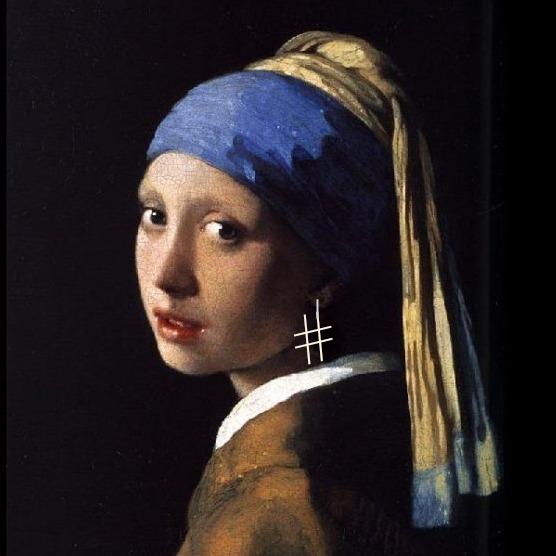 La ragazza con l'orecchino... di hashtag  - Jan Vermeer -