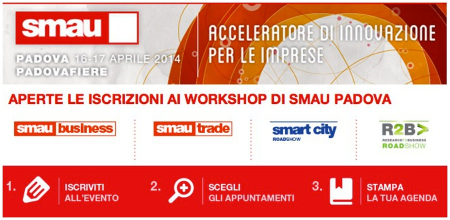 Smau, fiera dedicata all'Information & Communications Technology.