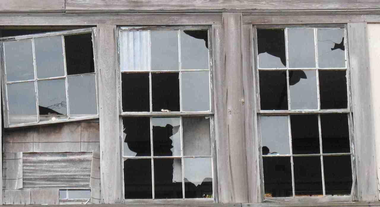 finestre rotte