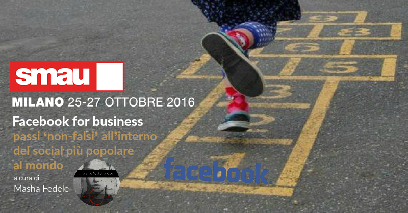 facebook for business di Masha Fedele